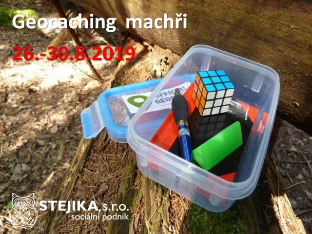 tábor Geocaching machři