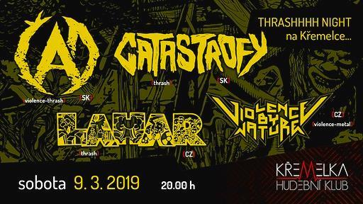 Thrash Night !!! na Křemelce