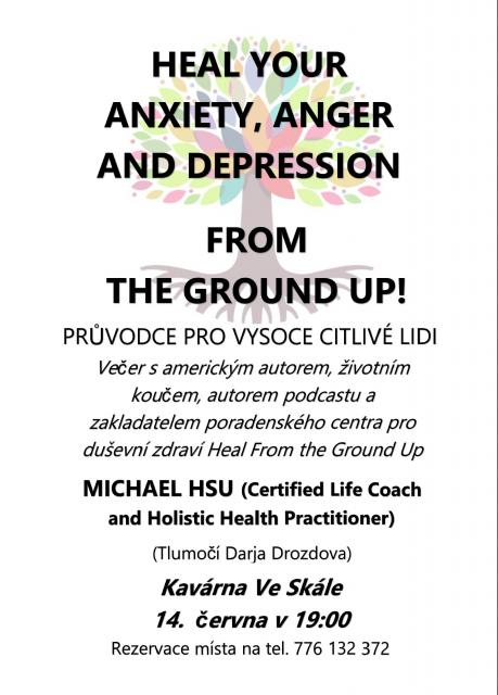 HEAL YOUR ANXIETY, ANGER AND DEPRESSION FROM THE GROUND UP!
